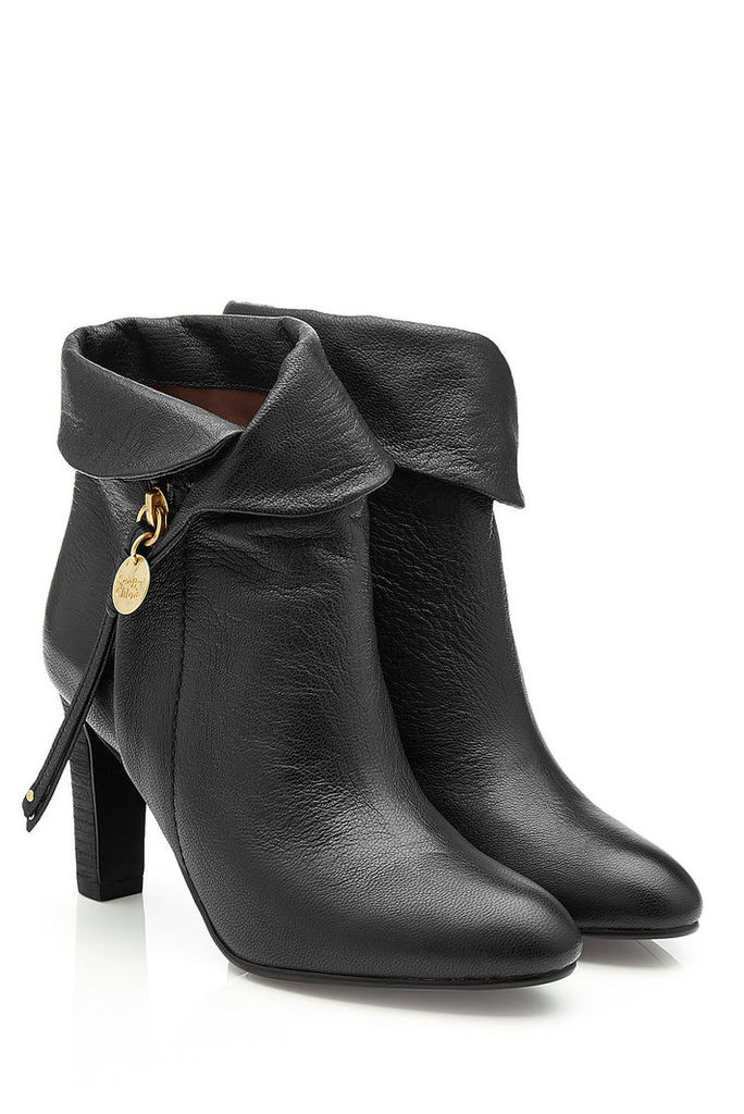 See by Chloé Masha Leather Ankle Boots