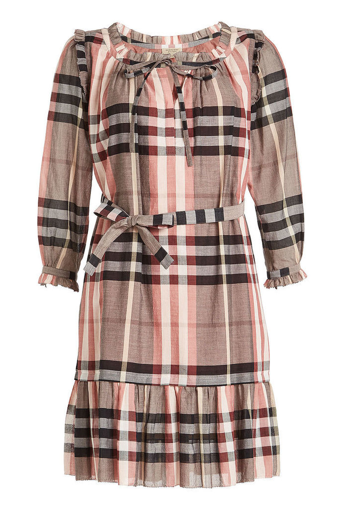 Burberry Printed Cotton Dress