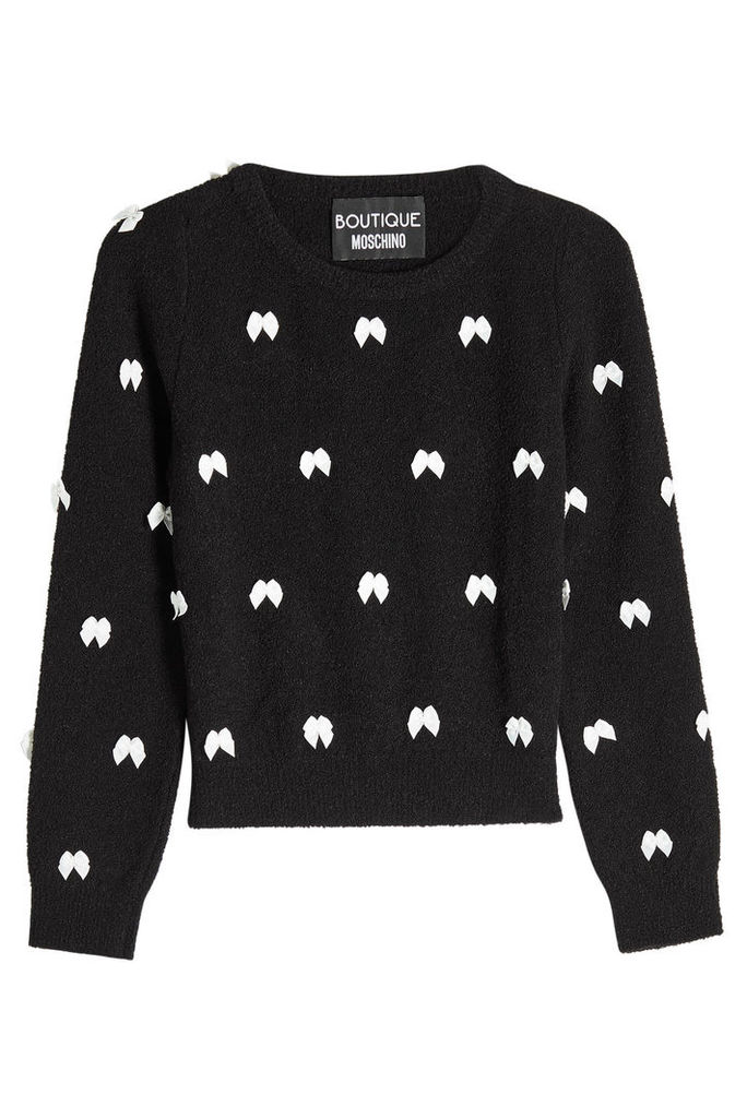 Boutique Moschino Pullover with Bows