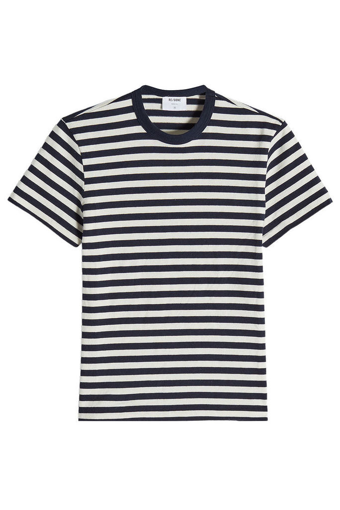 RE/DONE Striped Cotton T-Shirt
