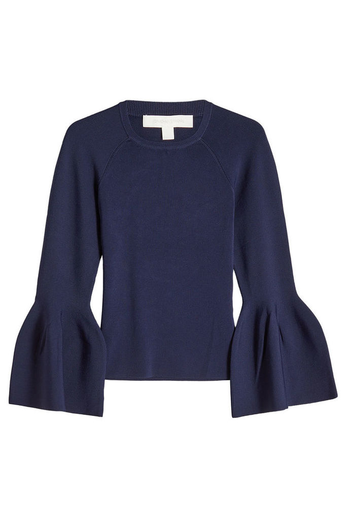 Jonathan Simkhai Knit Top with Bell Sleeves