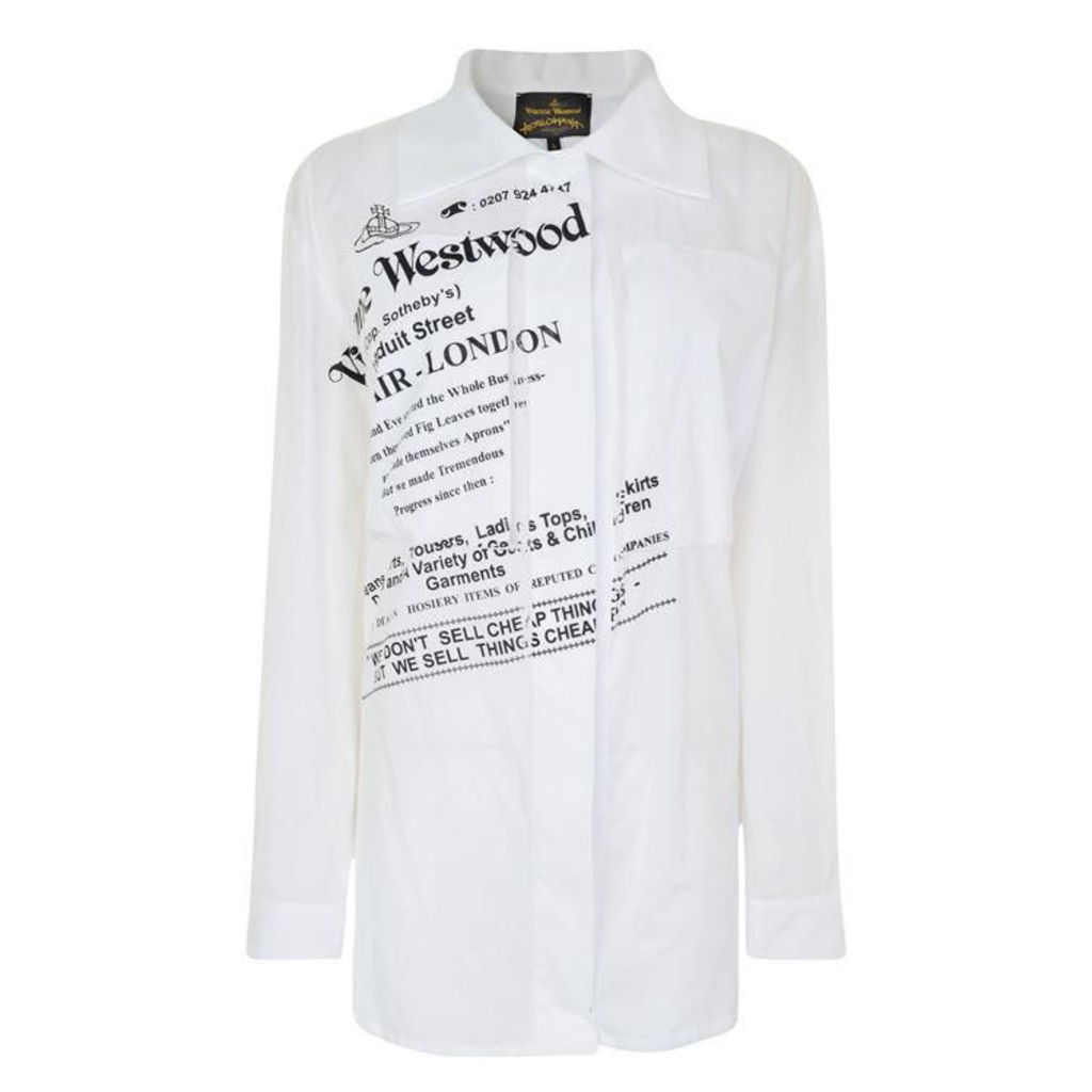 VIVIENNE WESTWOOD ANGLOMANIA Nomad Printed Shirt