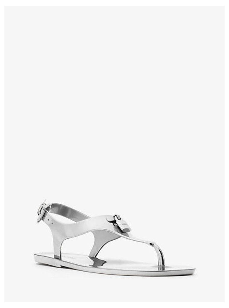 Mira Metallic Jelly Sandal