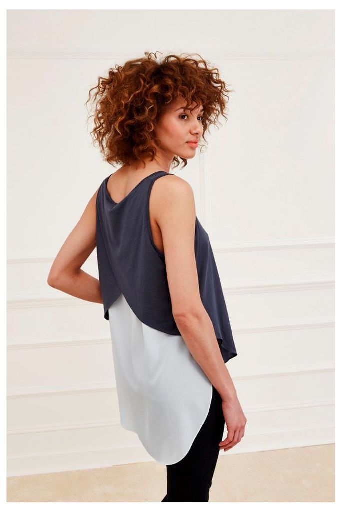 Featherweight Jersey Vest Top