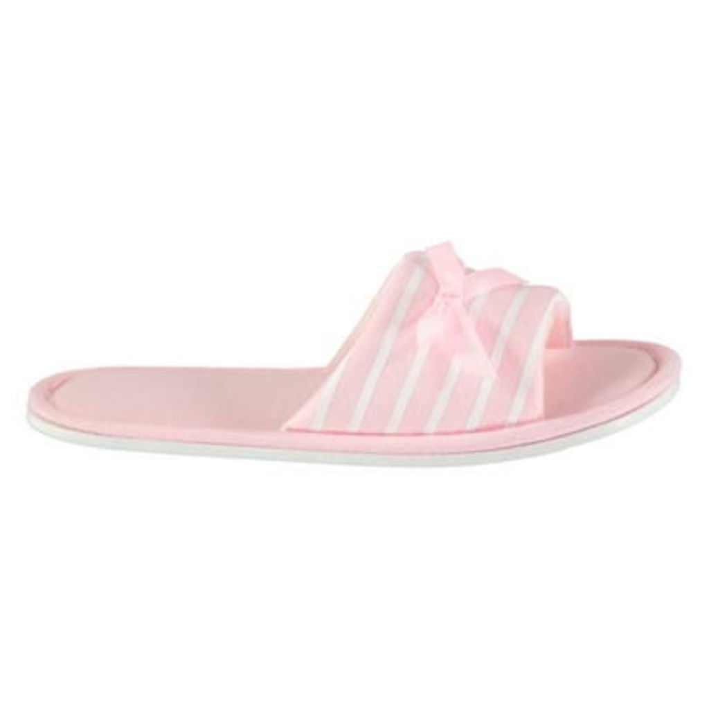 Rock and Rags Open Toe Slippers Ladies