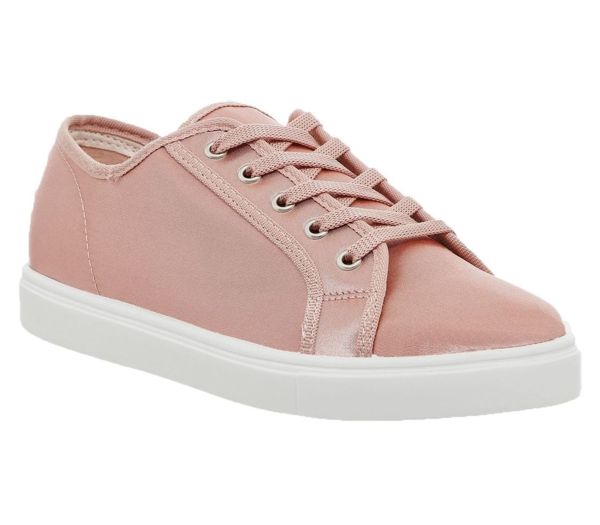Office Floyd lace up trainers, Pink