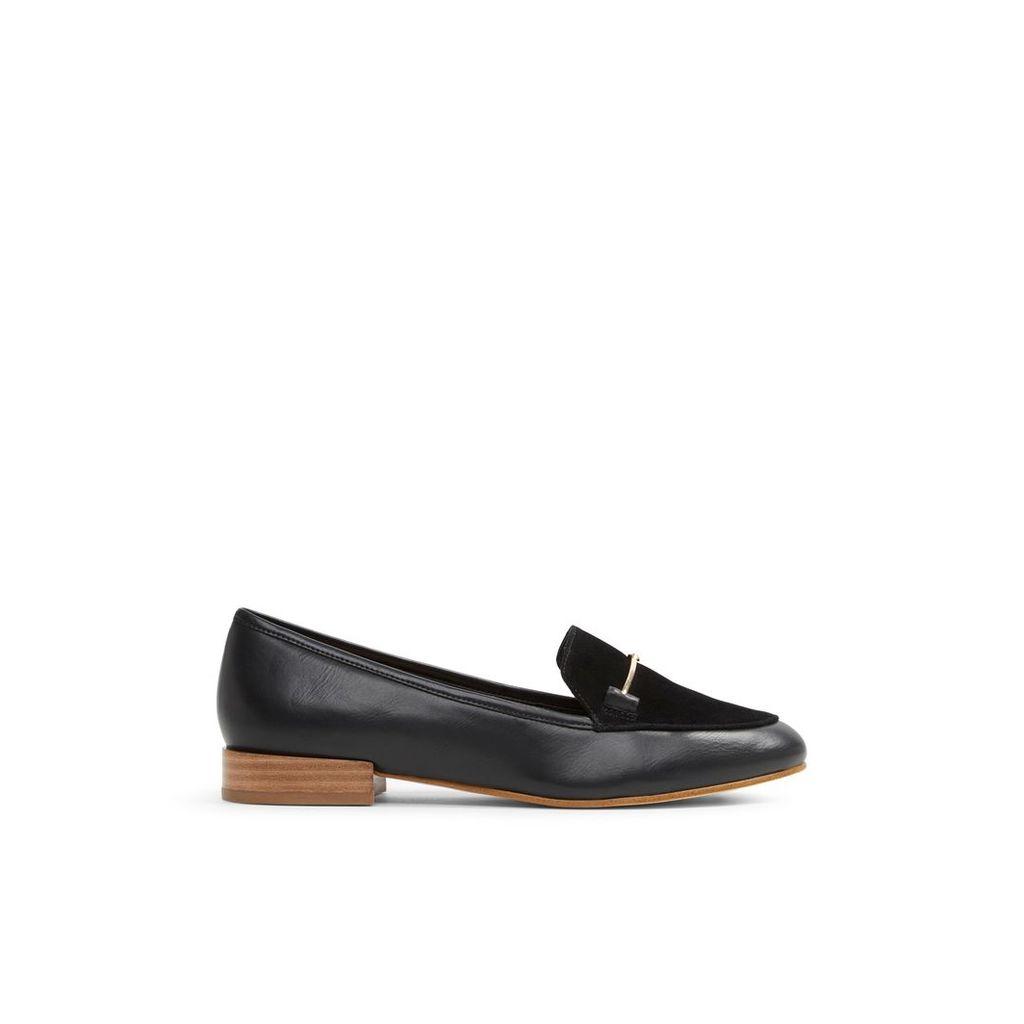 Aldo Harriett dandy loafers, Jet Black
