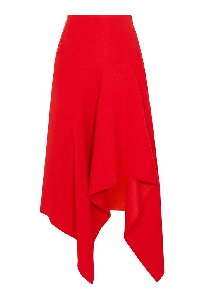 Coast Saira Asymmetric Skirt, Red