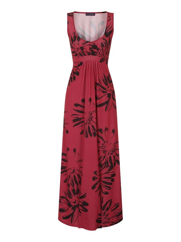 HotSquash Empire Line Jersey Maxi Dress, Red