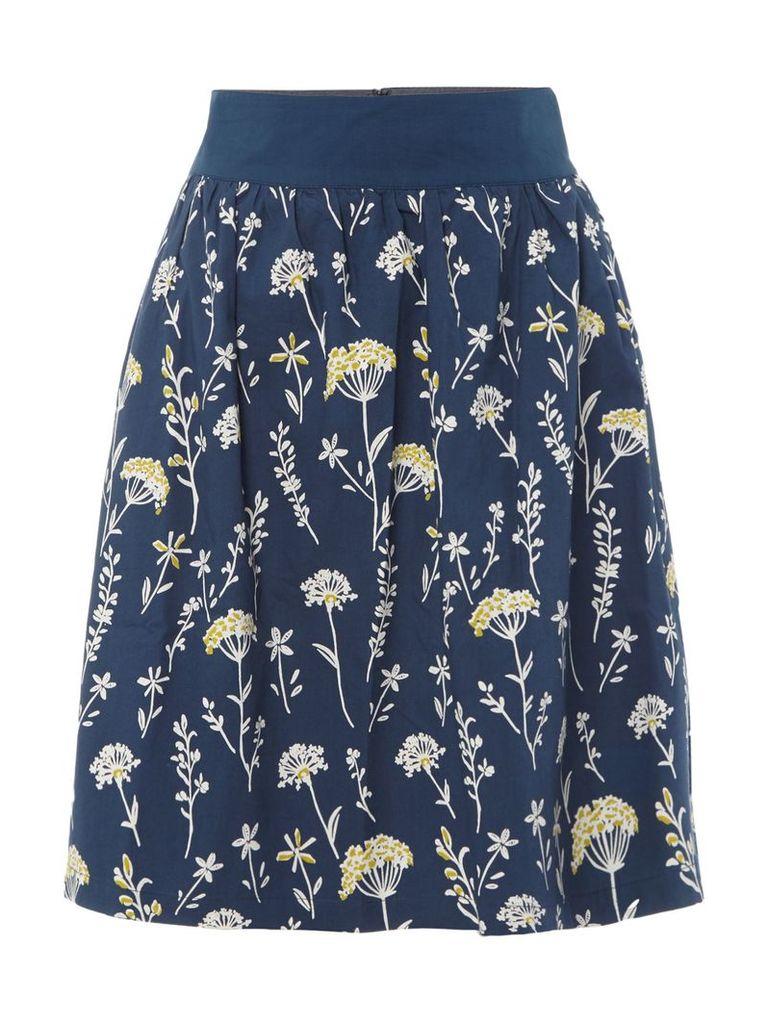 Brakeburn Summer dandelion skirt, Blue