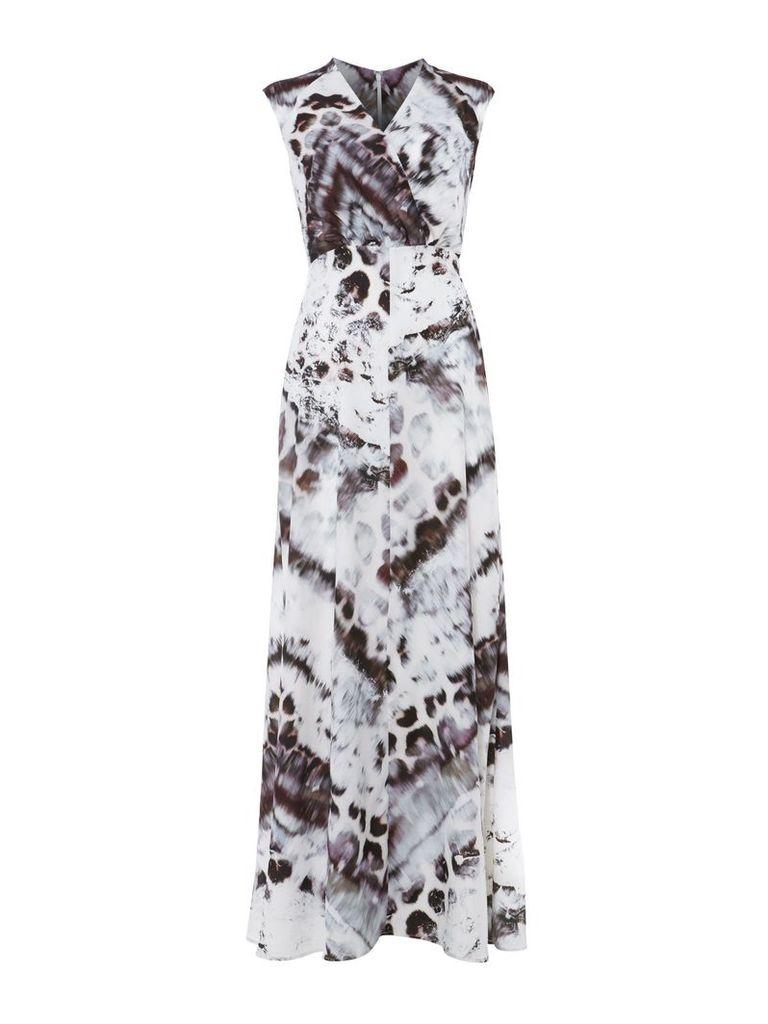 Damsel in a Dress Ocelot Maxi, Multi-Coloured