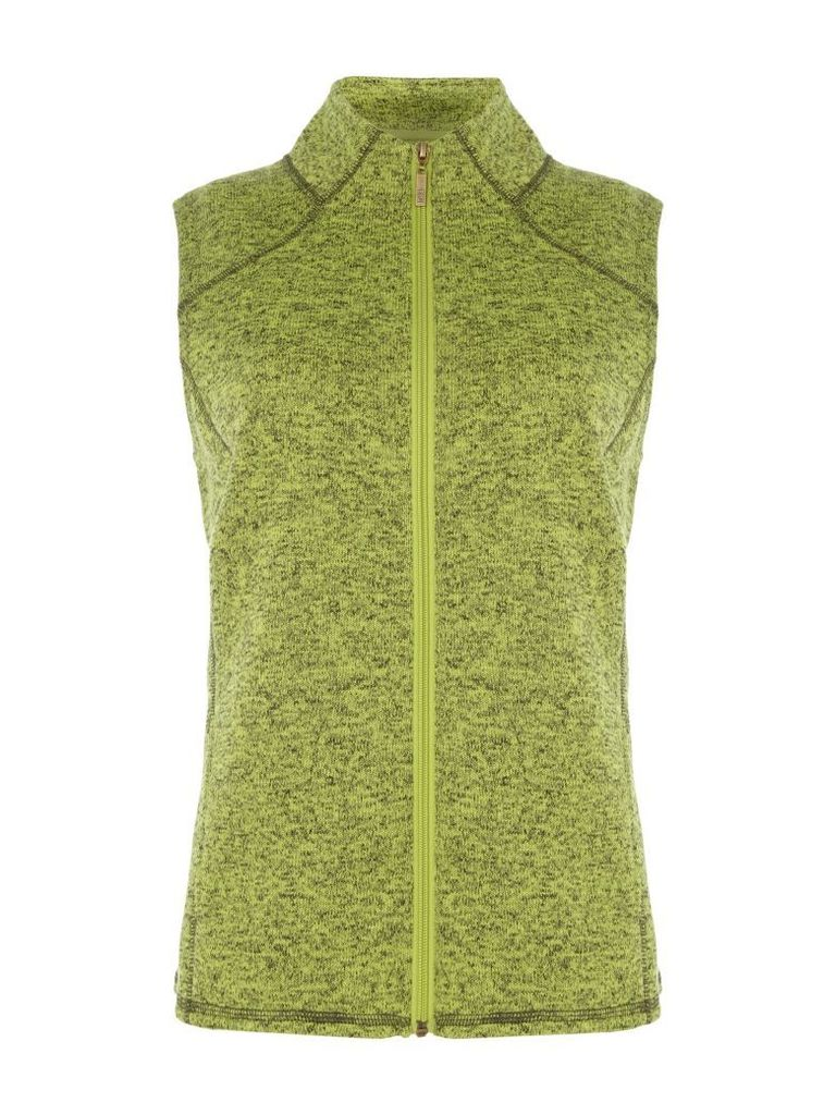 TIGI Fleece Gilet, Green