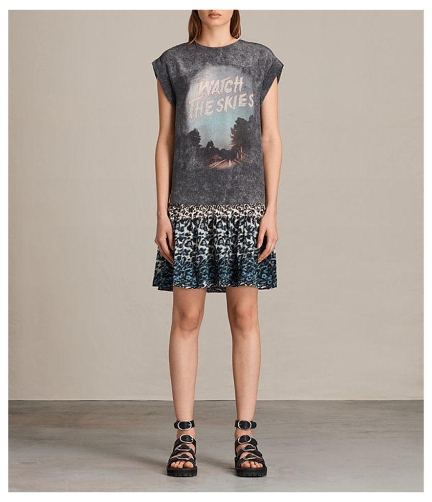Judy Skies Silk Dress