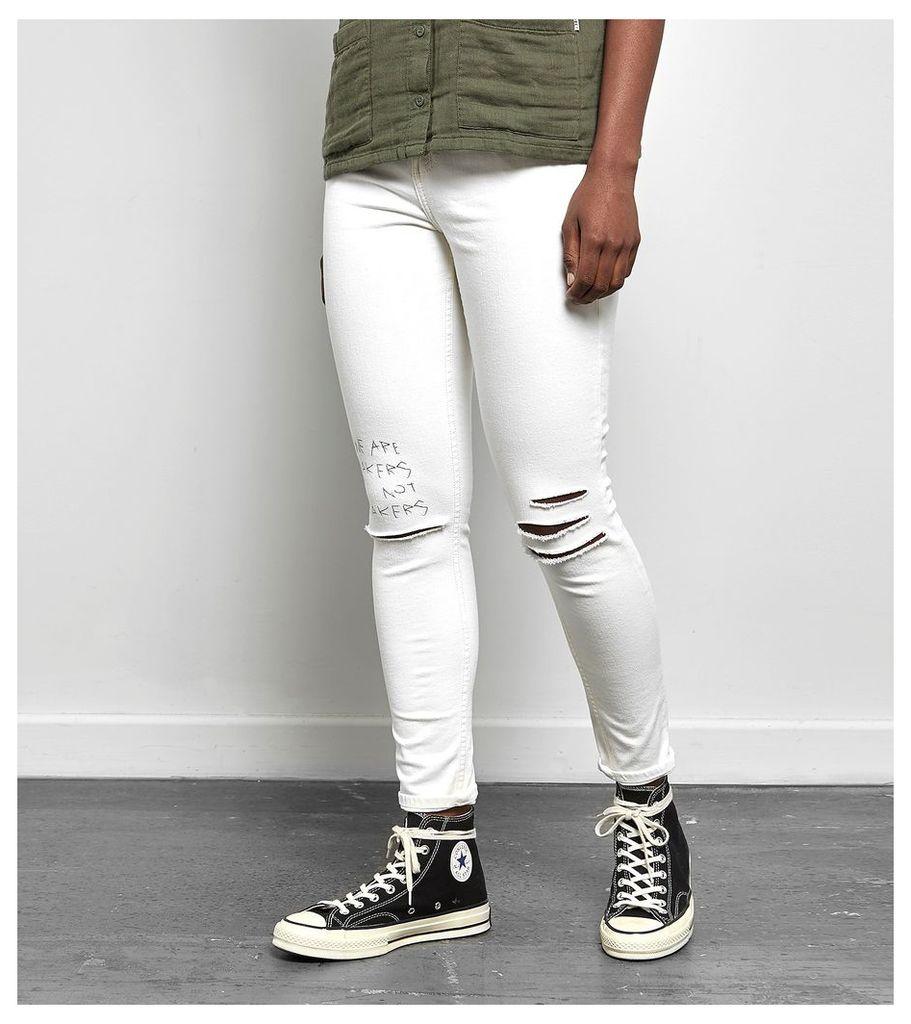 Obey Slasher Skinny II Jeans, Bone