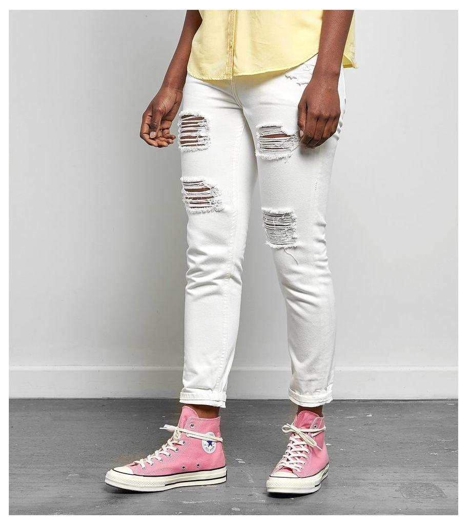 Obey Nemesis II Jeans, White