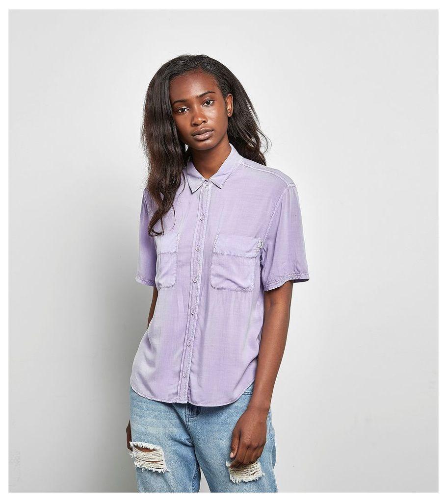 Obey St Marina Shirt, Purple