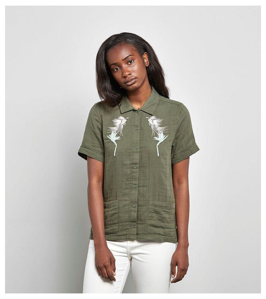 Obey Kingston Shirt, Olive