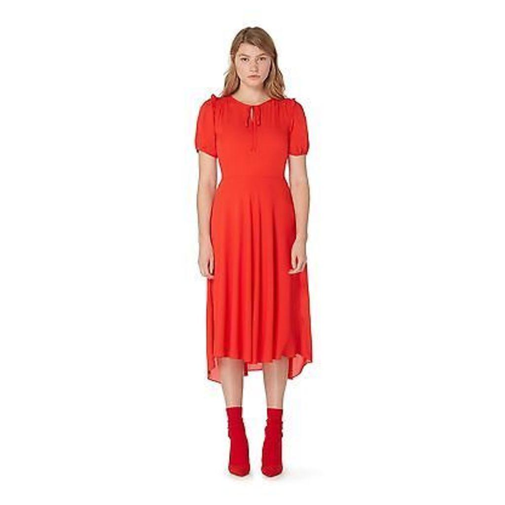 Studio By Preen Womens Red Midi Dress From Debenhams