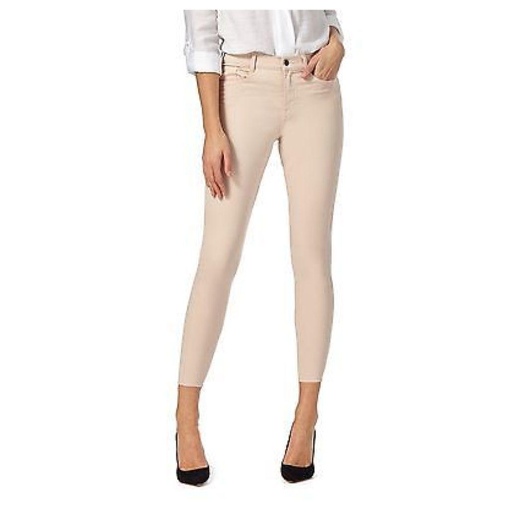 J By Jasper Conran Womens Pale Pink Ankle Grazer Slim Fit Jeans From Debenhams