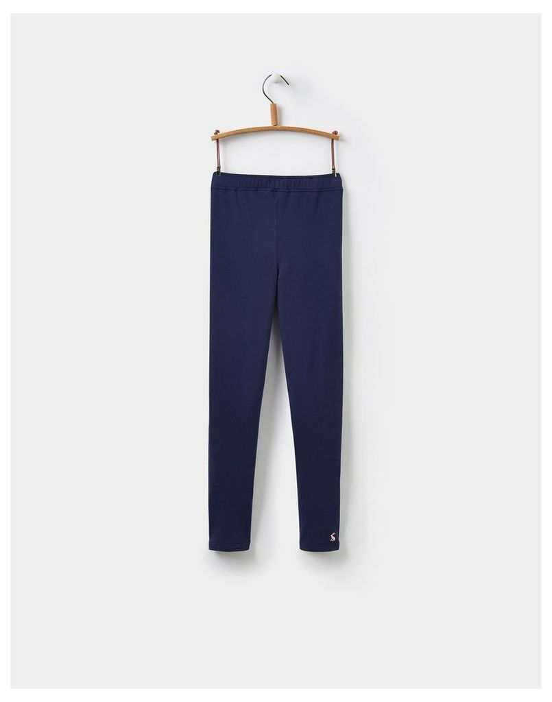 French Navy Emilia Jersey Leggings (3-12yr)  Size 2yr | Joules UK