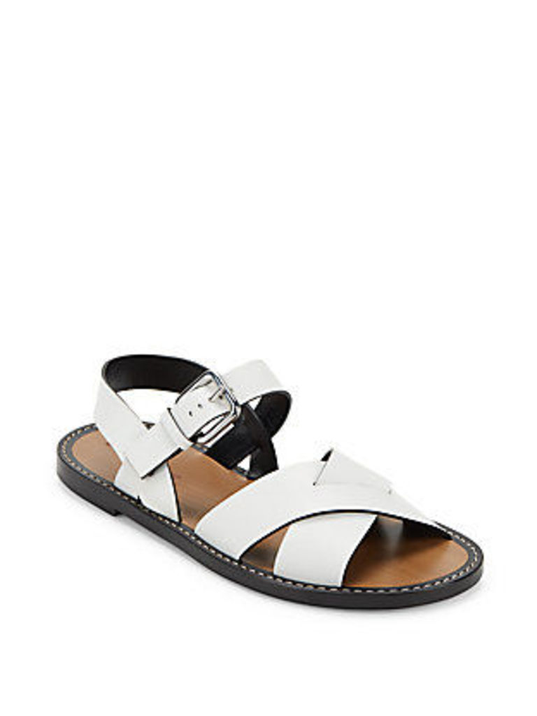 Open Toe Leather Sandals