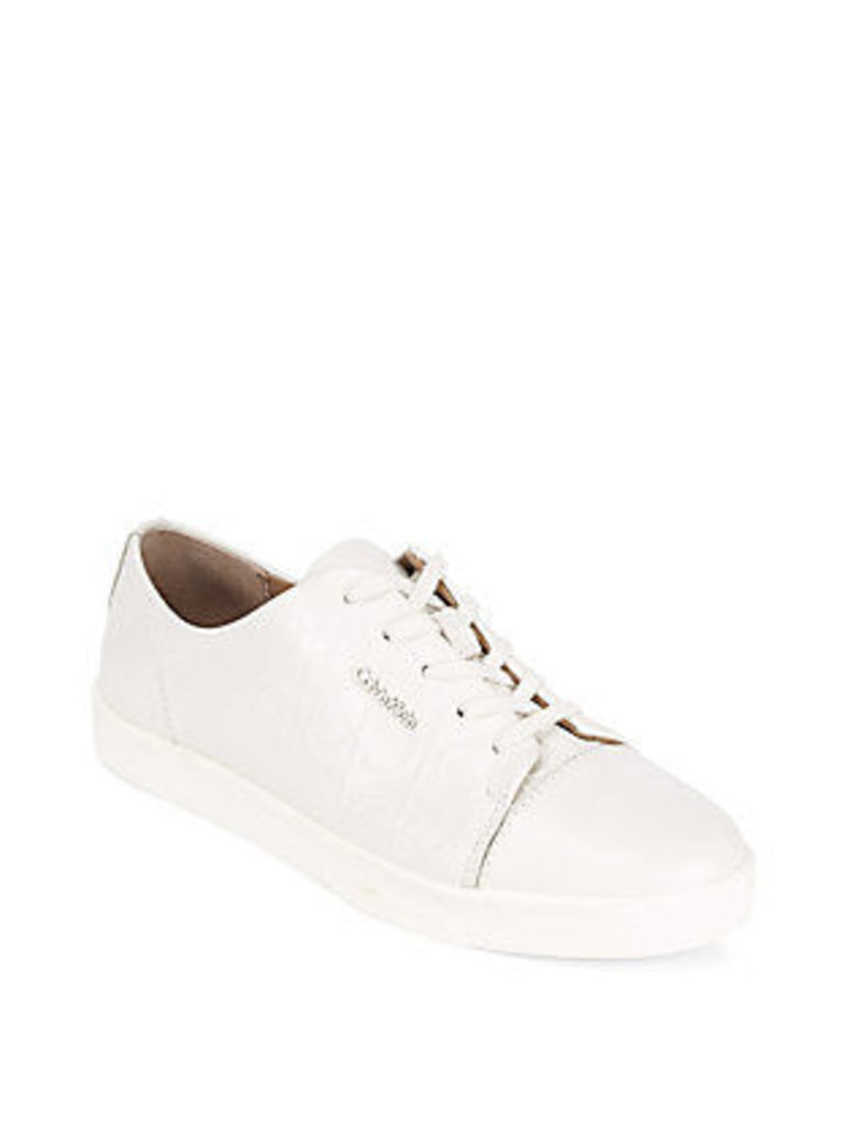 Imilia Lace-Up Leather Sneakers