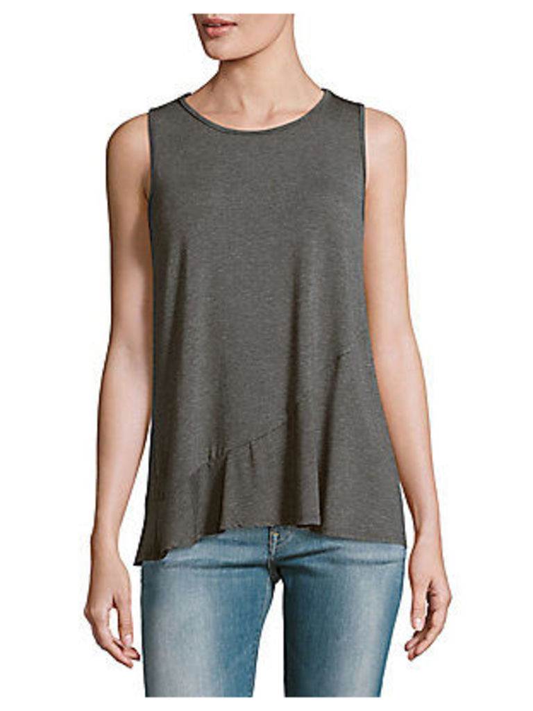 Solid Crepe Tank Top