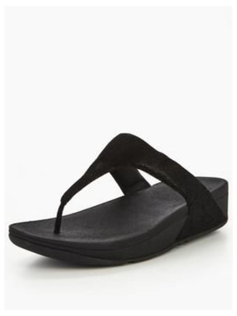 Fitflop Shimmy Suede Toe-Post Sandal