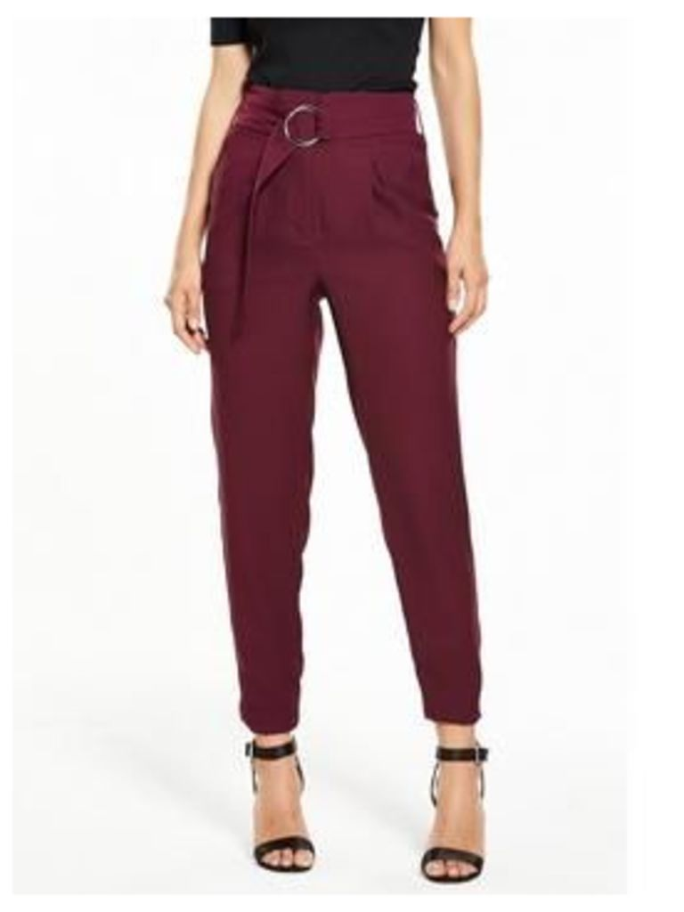 V By Very Paperbag Belted Trouser