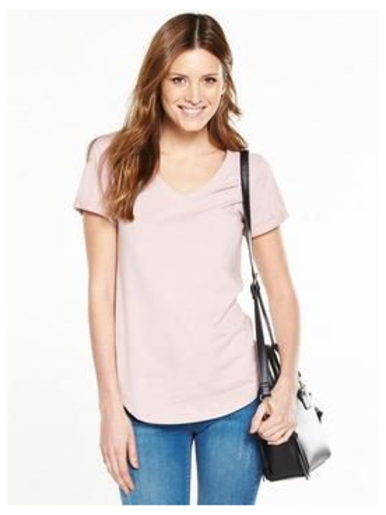 V By Very V-Neck 'Perfect Tee' T-Shirt