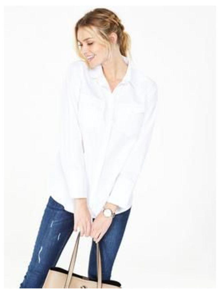 V By Very Oversized Shirt