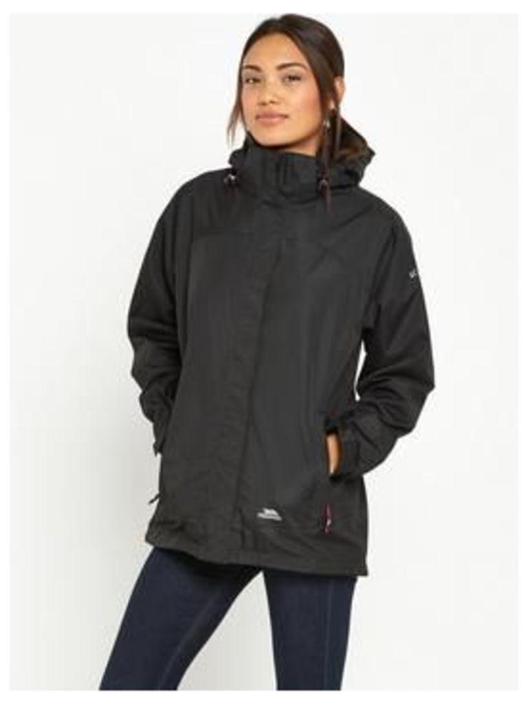 Trespass Nasu Ii Waterproof Jacket - Black