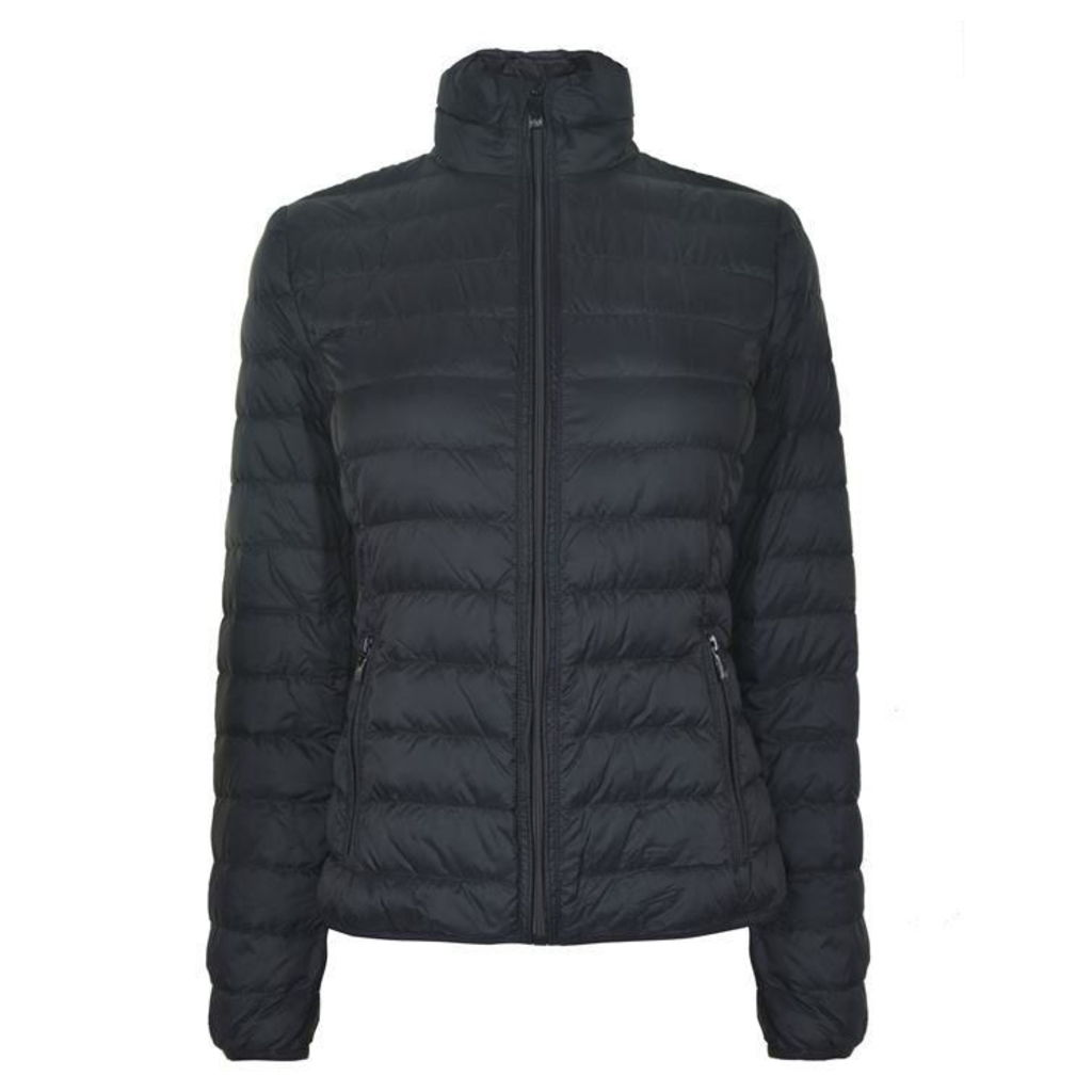 ARMANI JEANS Shiny Padded Jacket