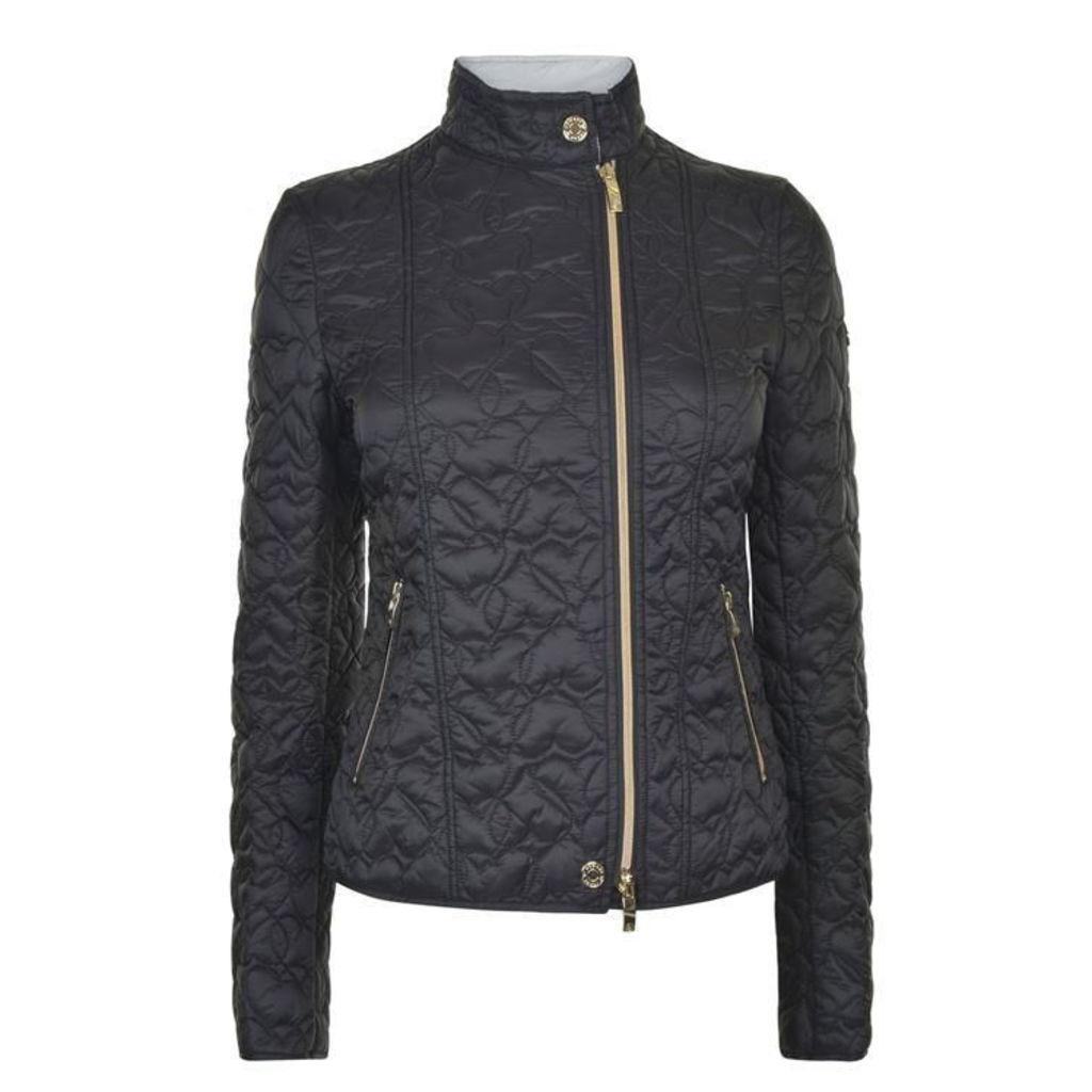 ARMANI JEANS Heart Padded Jacket