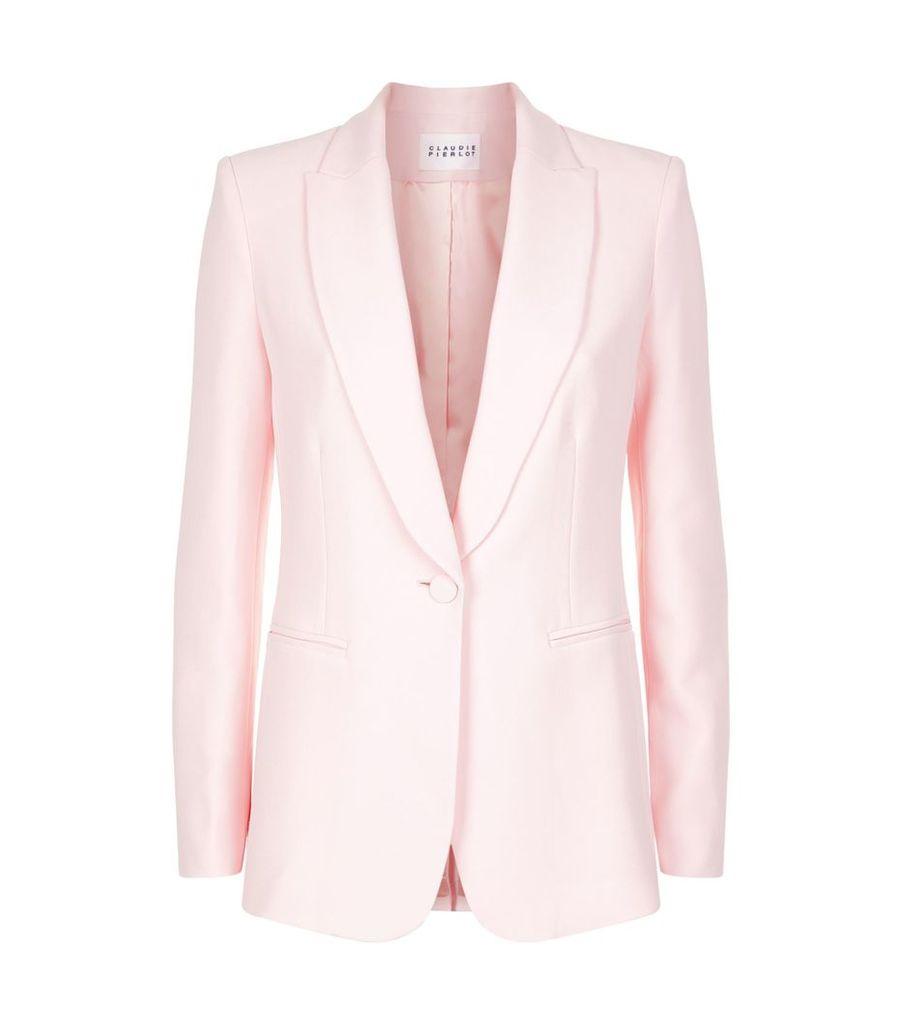 Tailored Crepe Jacket