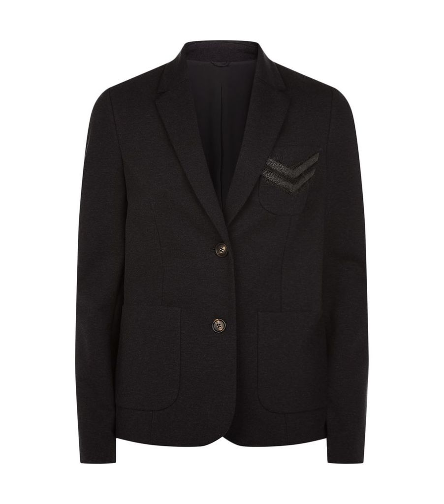 Embellished Pocket Jacket