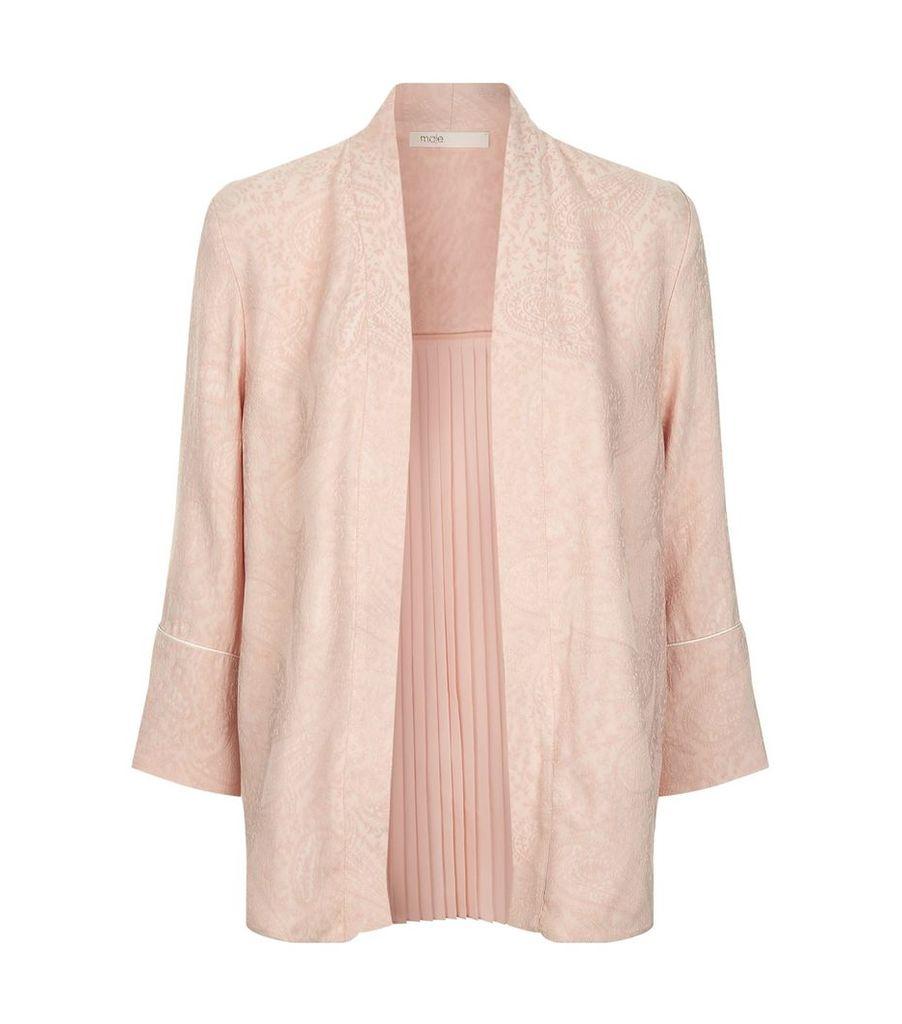 Pleated Kimono Jacket