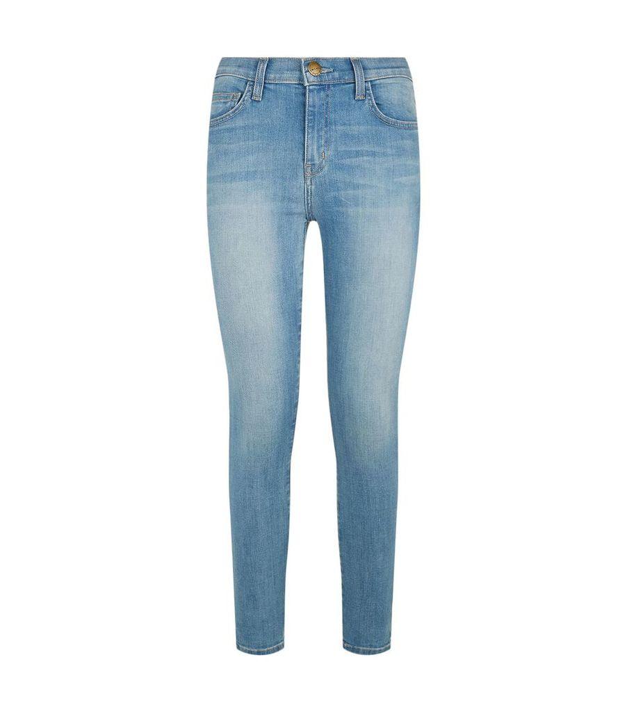 High Waist Stiletto Jeans