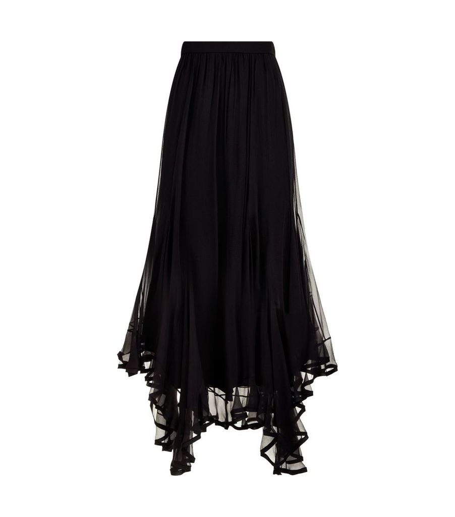 Silk Hankerchief Skirt