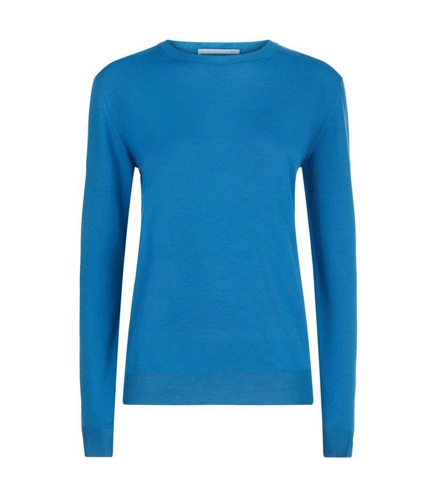Merino Wool Round Neck Sweater