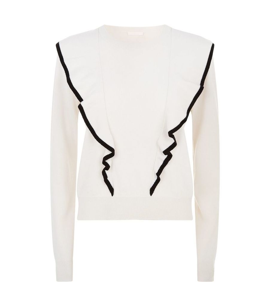 Double Front Cashmere Sweater