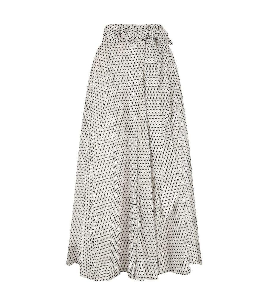 Polka Dot Beach Skirt