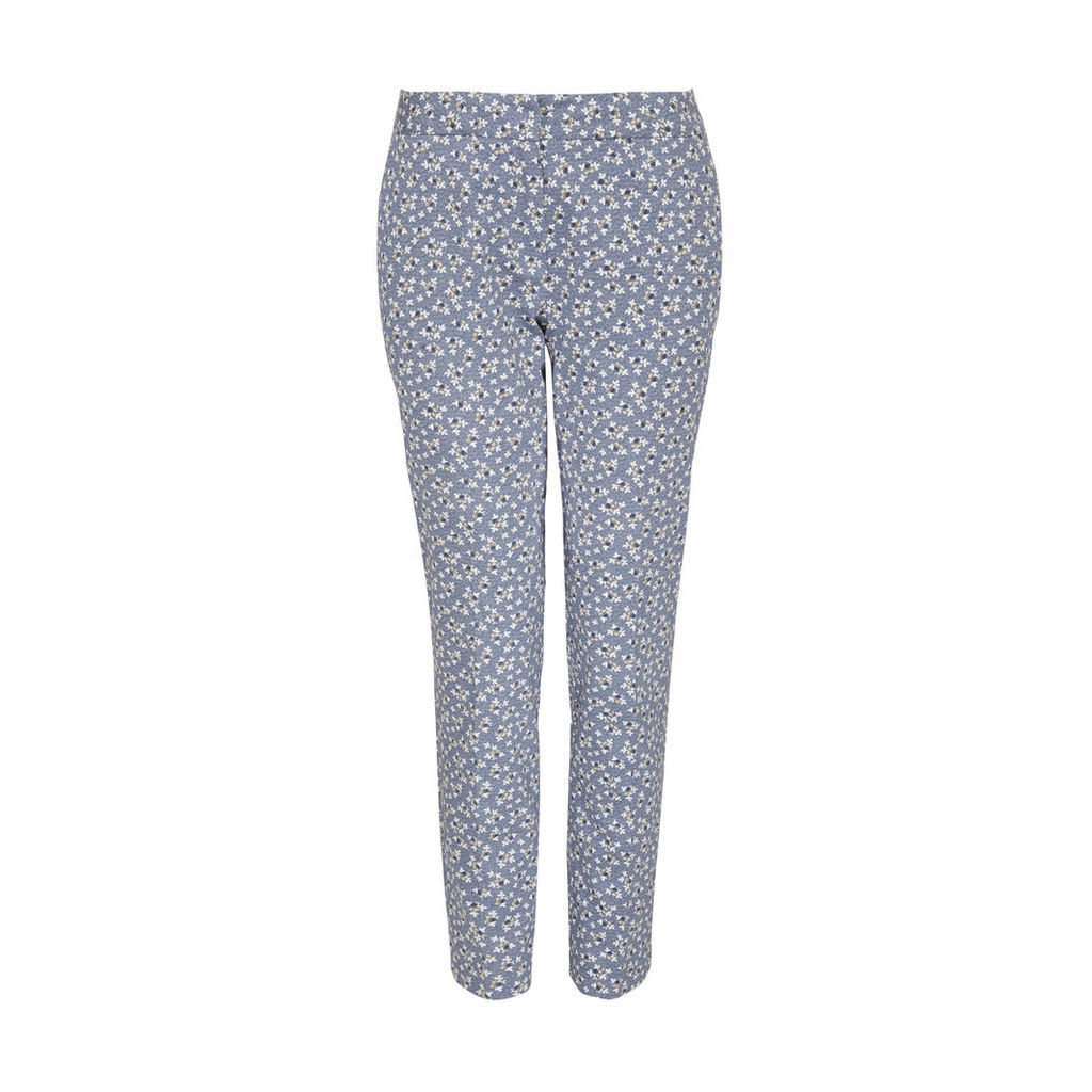 Floral Printed Cafe Trousers
