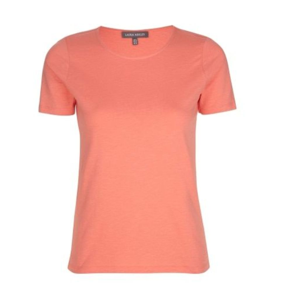 Round Neck Orange TShirt