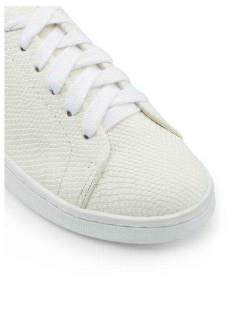 Womens ELODIE Lace Up Trainers, White