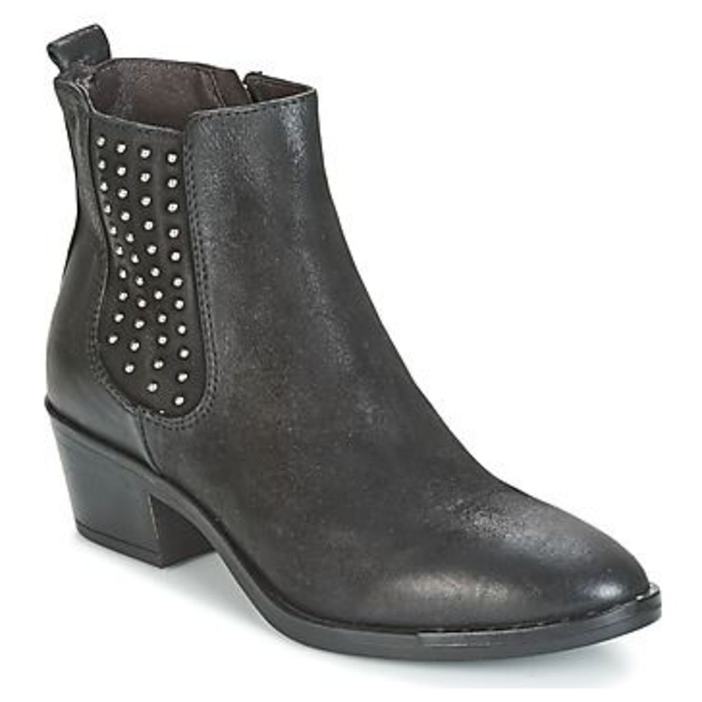 Mjus  FRESNO STUDS  women's Low Ankle Boots in Black