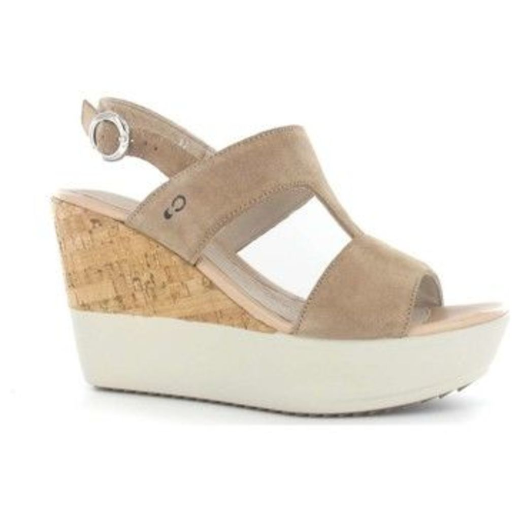 Stonefly  108382 Wedge sandals Women Beige  women's Sandals in BEIGE