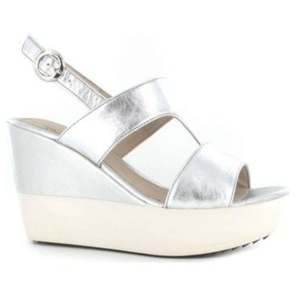 Stonefly  108381 Wedge sandals Women Sliver  women's Sandals in Silver