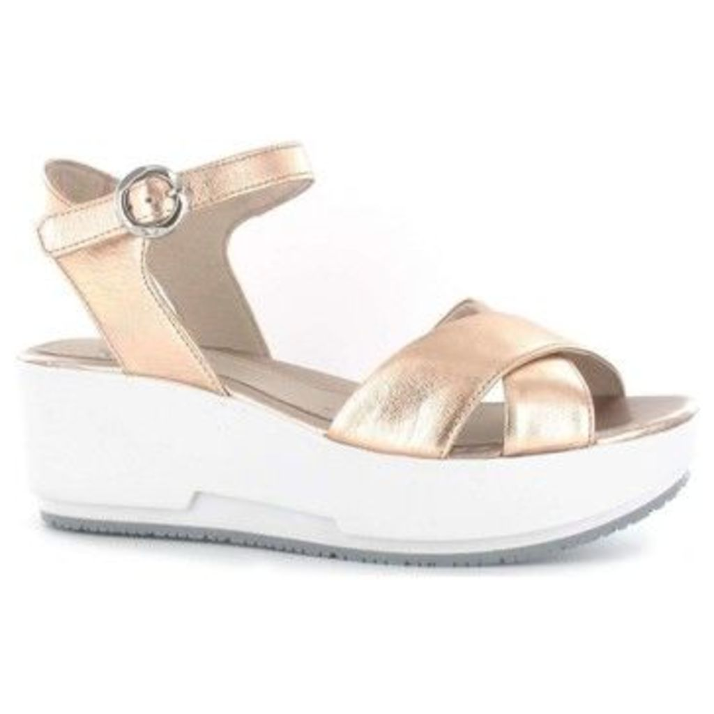 Stonefly  108410 Wedge sandals Women Gold  women's Sandals in Gold