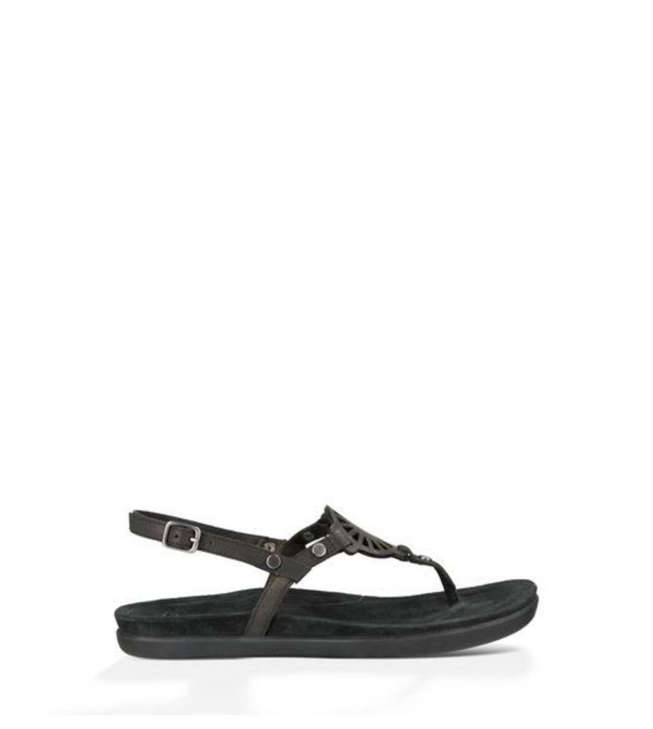 UGG Ayden Womens Sandals Black 4.5
